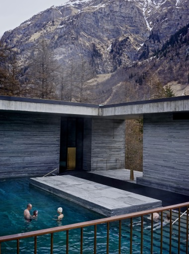 Vals Spa, Peter Zumthor
